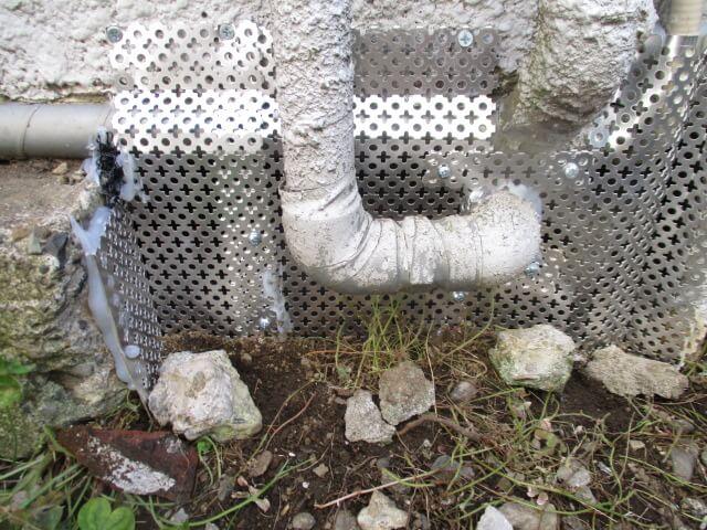 川崎ネズミ駆除の侵入口封鎖